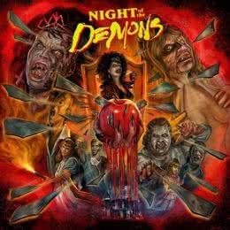 Обложка к диску с музыкой из фильма «Ночь демонов»
