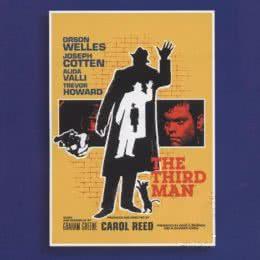 Обложка к диску с музыкой из фильма «Третий человек»