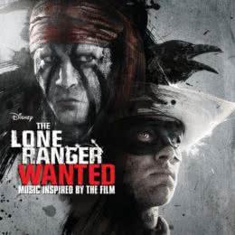 Обложка к диску с музыкой из фильма «Одинокий рейнджер»