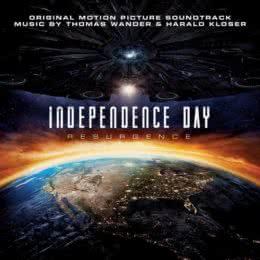 Обложка к диску с музыкой из фильма «День независимости: Возрождение»