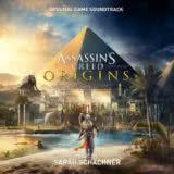 Маленькая обложка диска с музыкой из игры «Assassin's Creed Origins»