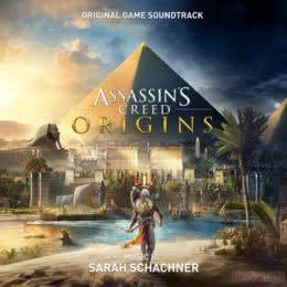 Обложка к диску с музыкой из игры «Assassin's Creed Origins»