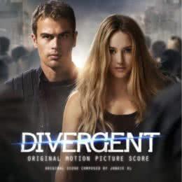 Обложка к диску с музыкой из фильма «Дивергент»