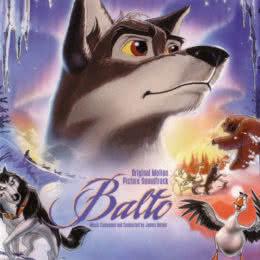Обложка к диску с музыкой из мультфильма «Балто»