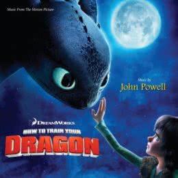 Обложка к диску с музыкой из мультфильма «Как приручить дракона»