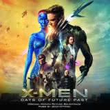 Маленькая обложка диска с музыкой из фильма «Люди Икс: Дни минувшего будущего»