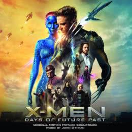 Обложка к диску с музыкой из фильма «Люди Икс: Дни минувшего будущего»