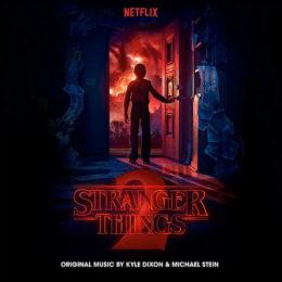 Обложка к диску с музыкой из сериала «Очень странные дела (2 сезон)»