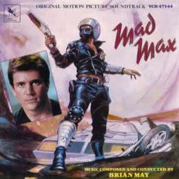 Обложка к диску с музыкой из фильма «Безумный Макс»