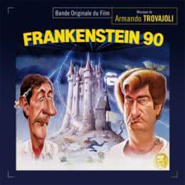 Обложка к диску с музыкой из фильма «Франкенштейн 90»