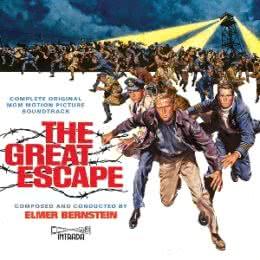 Обложка к диску с музыкой из фильма «Большой побег»