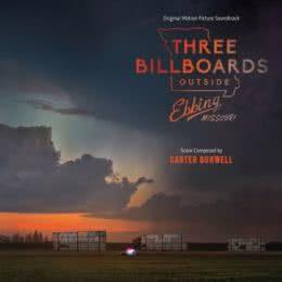 Обложка к диску с музыкой из фильма «Три биллборда на границе Эббинга, Миссури»