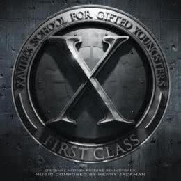 Обложка к диску с музыкой из фильма «Люди Икс: Первый класс»
