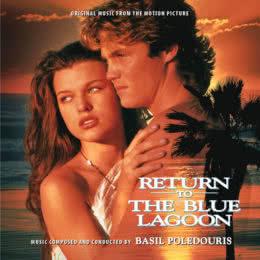 Обложка к диску с музыкой из фильма «Возвращение в Голубую лагуну»