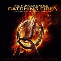 Обложка к диску с музыкой из фильма «Голодные игры: И вспыхнет пламя»