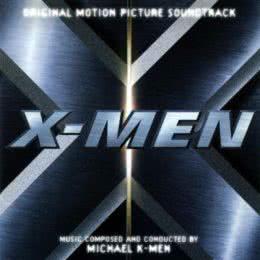 Обложка к диску с музыкой из фильма «Люди Икс»