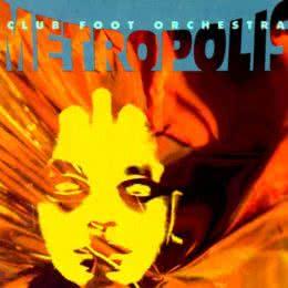 Обложка к диску с музыкой из фильма «Метрополис»