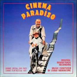Обложка к диску с музыкой из фильма «Новый кинотеатр Парадизо»