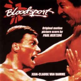 Обложка к диску с музыкой из фильма «Кровавый спорт»