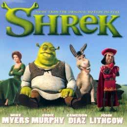 Обложка к диску с музыкой из мультфильма «Шрек»