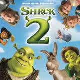 Маленькая обложка диска с музыкой из мультфильма «Шрек 2»
