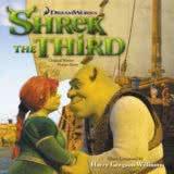 Маленькая обложка диска с музыкой из мультфильма «Шрек Третий»