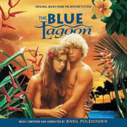 Обложка к диску с музыкой из фильма «Голубая лагуна»