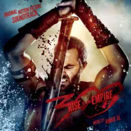 Обложка к диску с музыкой из фильма «300 спартанцев: Расцвет империи»