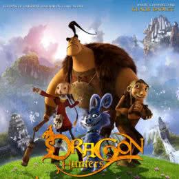 Обложка к диску с музыкой из мультфильма «Охотники на драконов»