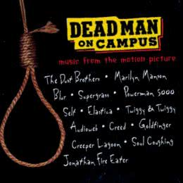 Обложка к диску с музыкой из фильма «Мертвец в колледже»