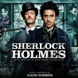 Обложка к диску с музыкой из фильма «Шерлок Холмс»
