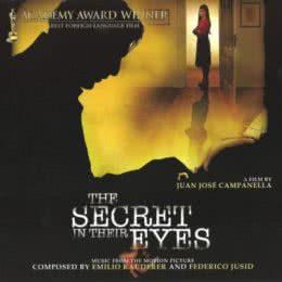 Обложка к диску с музыкой из фильма «Тайна в его глазах»