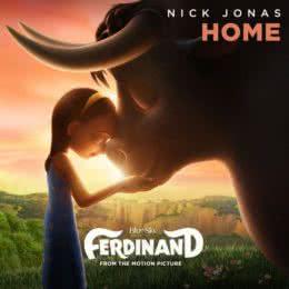 Обложка к диску с музыкой из мультфильма «Фердинанд»