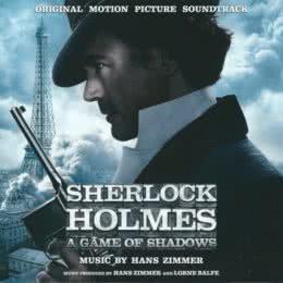 Обложка к диску с музыкой из фильма «Шерлок Холмс: Игра теней»