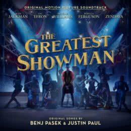 Обложка к диску с музыкой из фильма «Величайший шоумен»