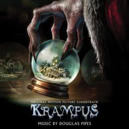 Обложка к диску с музыкой из фильма «Крампус»