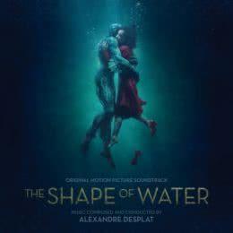 Обложка к диску с музыкой из фильма «Форма воды»