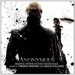Обложка к диску с музыкой из фильма «Аноним»