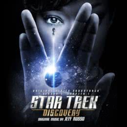 Обложка к диску с музыкой из сериала «Звёздный путь: Дискавери (1 сезон, 1 сборник)»