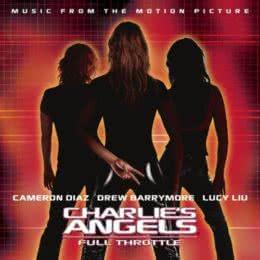 Обложка к диску с музыкой из фильма «Ангелы Чарли 2: Только вперёд»
