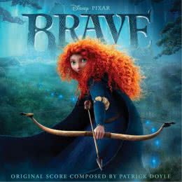 Обложка к диску с музыкой из мультфильма «Храбрая сердцем»