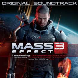 Обложка к диску с музыкой из игры «Mass Effect 3»