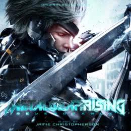 Обложка к диску с музыкой из игры «Metal Gear Rising: Revengeance»