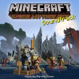 Обложка к диску с музыкой из игры «Minecraft: Norse Mythology»