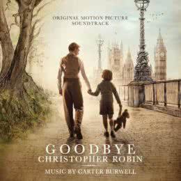 Обложка к диску с музыкой из фильма «Прощай, Кристофер Робин»