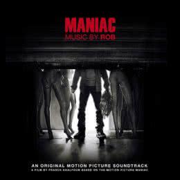 Обложка к диску с музыкой из фильма «Маньяк»