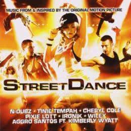 Обложка к диску с музыкой из фильма «Уличные танцы 3D»