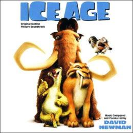Обложка к диску с музыкой из мультфильма «Ледниковый период»