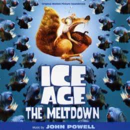 Обложка к диску с музыкой из мультфильма «Ледниковый период 2: Глобальное потепление»