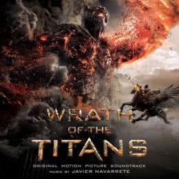 Обложка к диску с музыкой из фильма «Гнев Титанов»